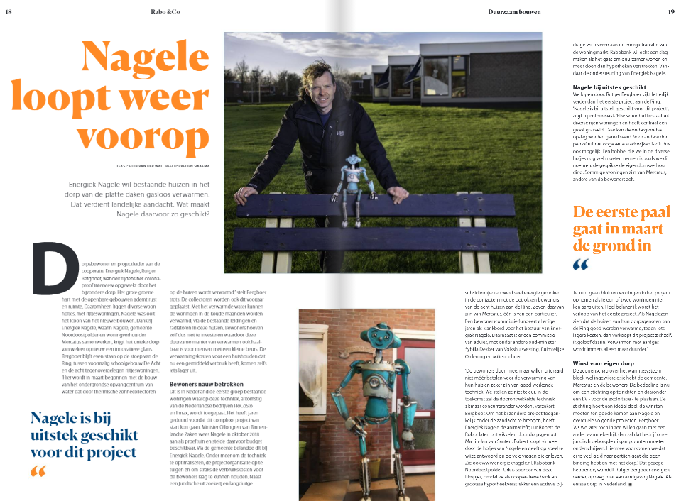 Nagele loopt weer voorop – artikel Rabo&Co